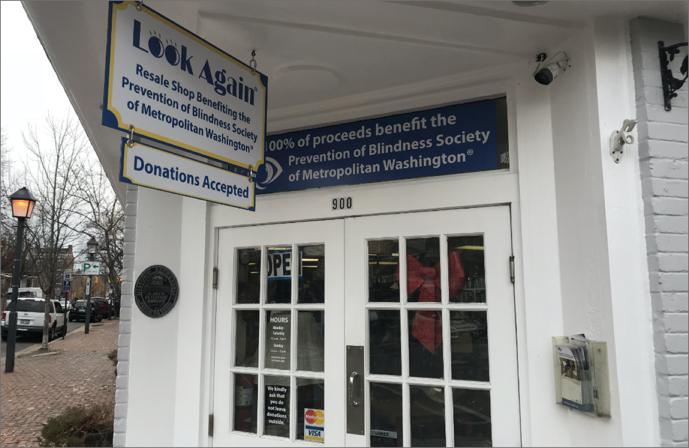Photo of the Alexandria, VA Look Again Resale Shop