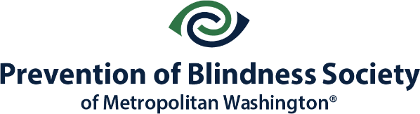 Prevention of Blindness Society of Metropolitan Washington logo